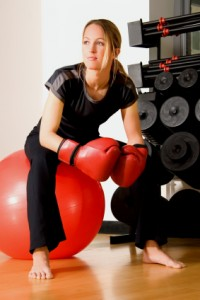 mums kickboxing lessons - bulldog gym balgowlah